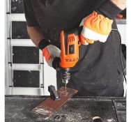 (JH54) 710W Impact Drill Switch the button on the top to select hammer or drilling functions ...