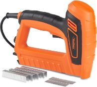 (DD37) 5A Electric Staple Gun & Nailer – Includes Staples & Nails Suitable For Fabrics, Uphol...