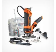 (JH45) Deluxe Spin Saw Multi-purpose power tool Cut, Grind, Polish, Sand, Sharpen, Engrave, E...