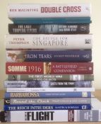 32 Assorted Books On History Including Somme 1916 & First World War In 100 Objects