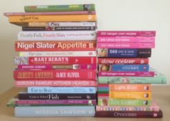 30 Assorted Books On Food & Drink