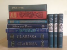 10 Assorted Folio Society Books Including The Treasure Seekers By E. Nesbit