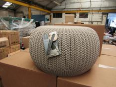 Keter Knit Range Cosy Seat, New And Boxed.