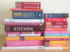 25 Assorted Books On Food & Drink