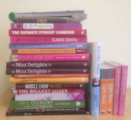 23 Assorted Books On Food & Drink