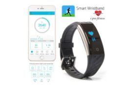 I-Pro S2 Waterproof Fitness Tracker With Heart Rate Monitor