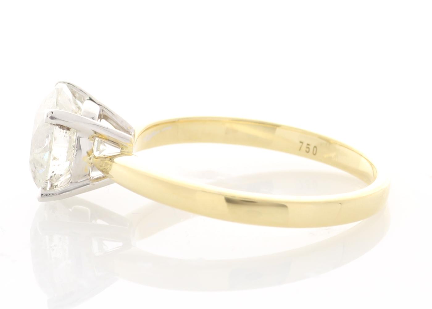 18ct Yellow Gold Prong Set Diamond Ring 2.21 Carats - Image 2 of 5