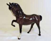 Vintage Beswick Prancing Stallion Horse Figurine c.1970's