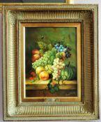 Original Still Life Oil Painting by Artist Johnny Gaston