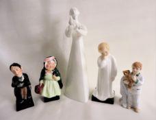 5 Royal Doulton Porcelain Figurines