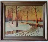 Oil Painting Russian Artist Victor Emanuelov