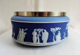Antique Wedgwood Jasperware Tri-Colour Bowl c. 1890
