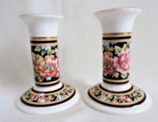 Pair Vintage Wedgwood Candlesticks