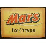 Vintage Retro Metal Mars Ice Cream Wall Shop Advertising Sign