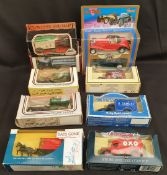 Collectable 10 x Die Cast Model Cars Lledo & Days Gone