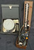 Vintage Medical Equipment Blood Pressure and Asthma Gauge