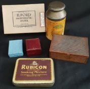 Vintage Parcel of Collectable Tins and Boxes