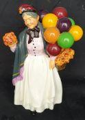 Vintage Royal Doulton Figure Biddy Pennyfarthing HN 1843