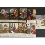 Antique Military WWI Nine Postcards Bamforth