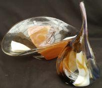 Vintage Mdina Glass Includes Large Fruit Bowl