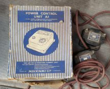Vintage Box of 15 Assorted Model Railway Power Units Includes Meccano & Hornby