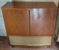 Vintage Furniture Radio Gram Cabinet c1950's
