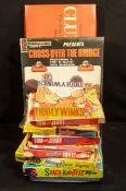 Vintage Parcel of Board Games & Jigsaws c1970's Includes Tom & Jerry & Captain Scarlet