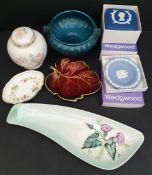 Vintage Parcel of Ceramics Wedgwood Carlton Ware & Royal Winton