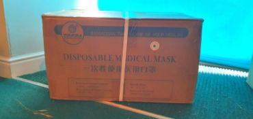 20,000 Water Resistant Surgical Masks Type 1 with CE, FDA and Test Certificates