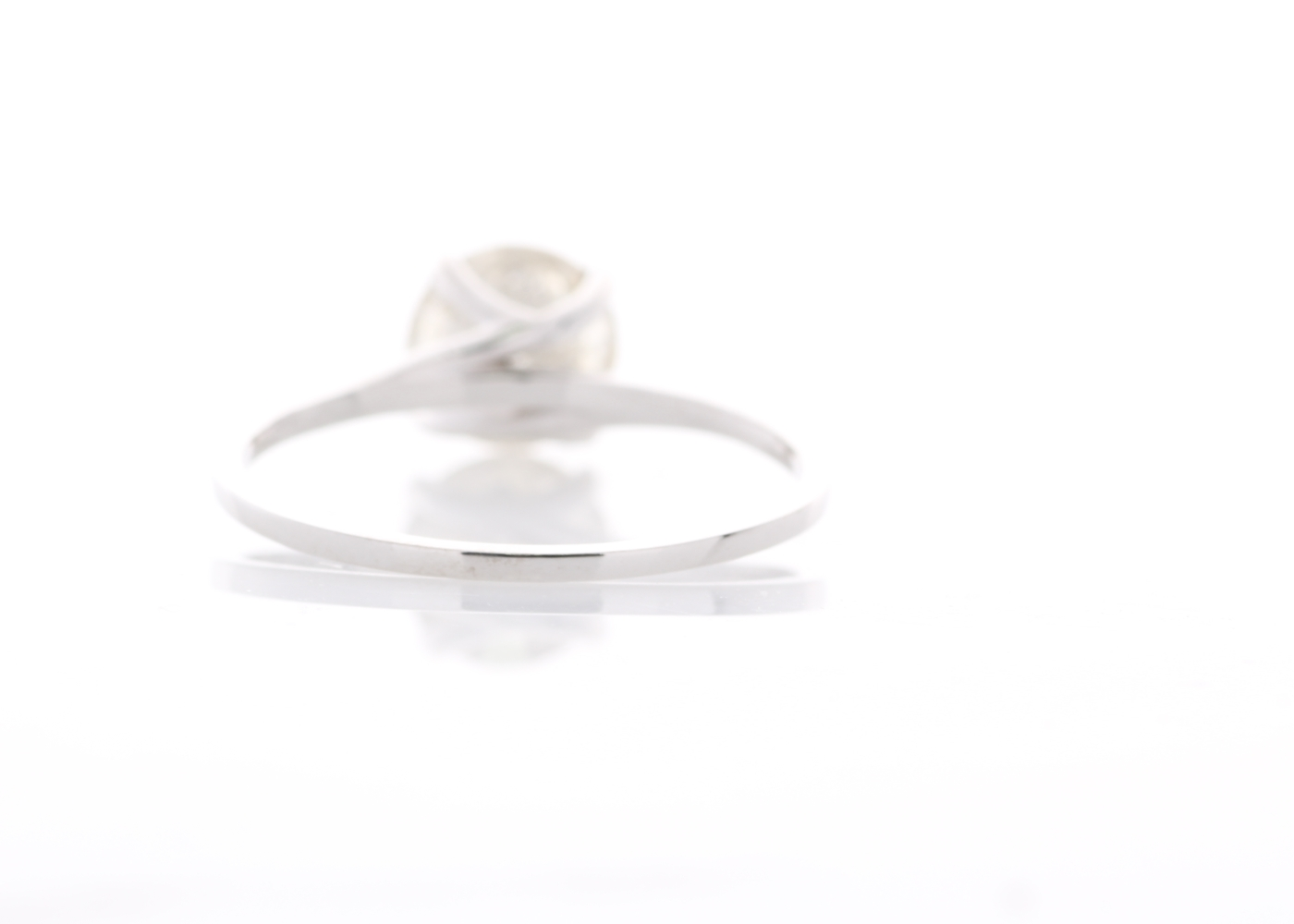 18ct White Gold Rex Set Diamond Ring 1.06 Carats - Image 3 of 5