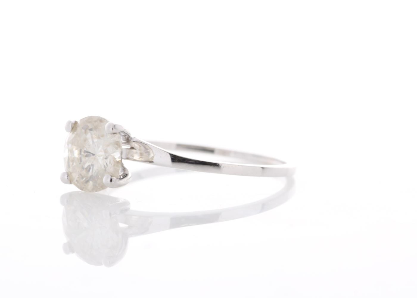18ct White Gold Rex Set Diamond Ring 1.06 Carats - Image 2 of 5