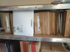 43 X Leitz Style (A4) 12-Part Polypropylene Divider Book (White) 39960004