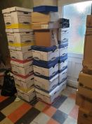 Approx 600 Ring Binders. Lever Arch Files. Magazine Files And Letter Trays,