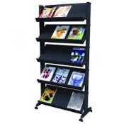 11 Boxes Of Fast Paper Literature Display Sides And Shelves