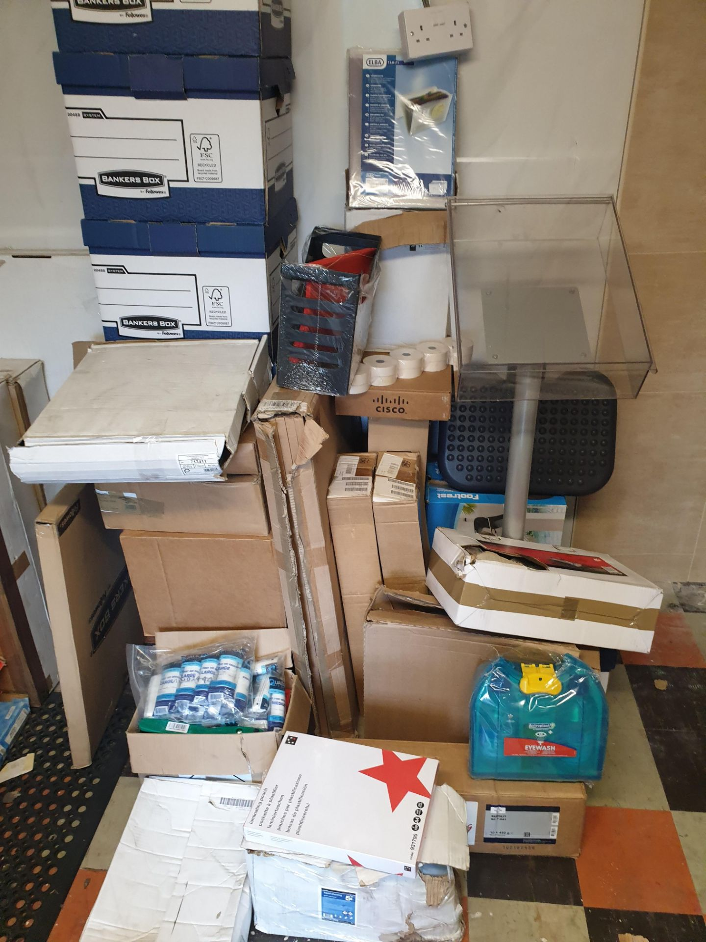 Lot 3 - Mixed Pallet Office Supplies, All New, Some Has Tatty Packaging, Some Perfect