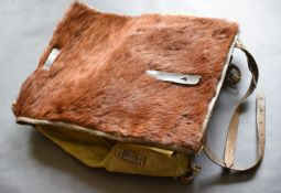 WW2 German Pony Fur Tournister Backpack 1941