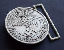 German Military Style Belt Buckle