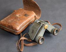 Carl Zeiss Wetzlar Jena Telita 6x18 in original case and DRGM Rangefinder WW2 German