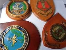 4 Military Plaques