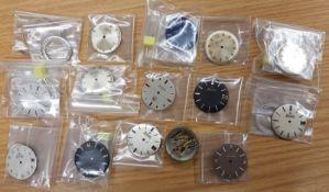 14 Bulova Accutron Dials Including Rare Astronaut