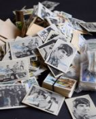 Large Collection Of Cigarette Cards And Stamps