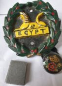 Vintage Car Emblem And Other Items