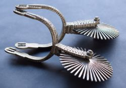 Pair Of Chile Gaucho Spurs