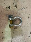 25 X 1 Ton Yellow Pin Safety Bow Shackles (Ypufsab1)