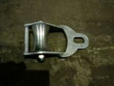 2 X 75Mm Galvanised Swivel Eye Lazy Line Block Withy No Eye (Gllb075E)