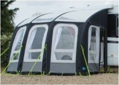 1 X 420Cm Air Inflatable Caravan Awning With Sky Lights (Zzstoa420)