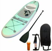 1 X 8 Fwwt (243 X 71 X 10Cm) Long X 90Kg Capacity Double Skin Inflatable Sup Set (Zznyois8)