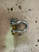 150 X 1 Ton Yellow Pin Safety Bow Shackles (Ypufsab1)