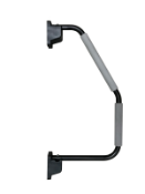 10 X Black Xl Hand Rails (Zzielhrb)