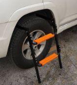 2 X Ground Wheel Ladder (Zzqkkgwl)